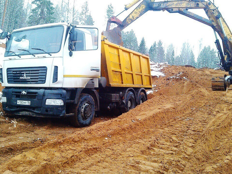 Ижевск, доставка песка строительная компания офц кострома