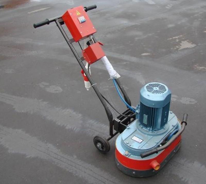 машина для шлифовки бетонного пола