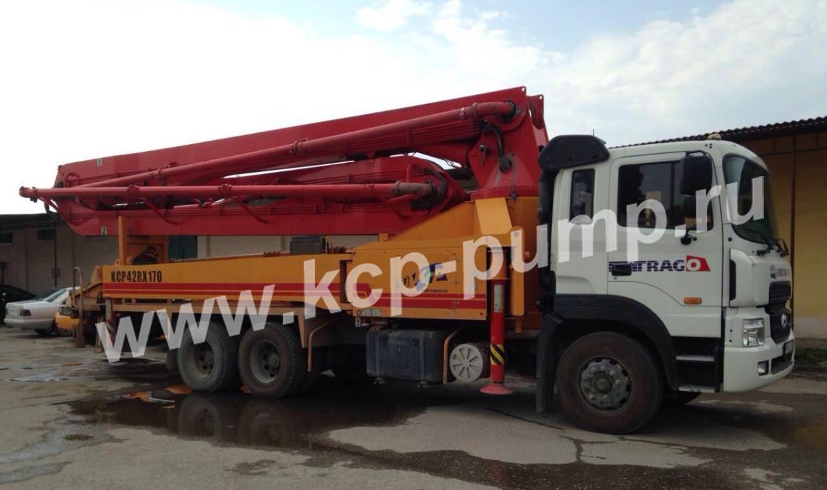 hyundai new power truck бетононасос 2011