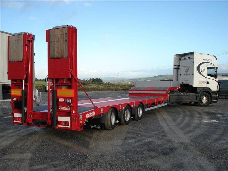 Перевозка грузов раздвижным тралом